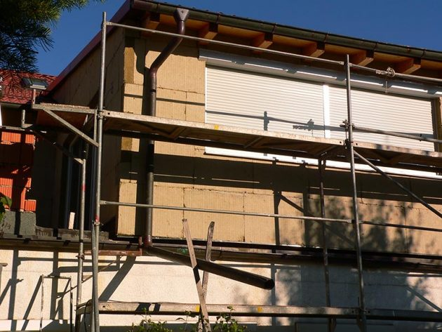 Sanierung einer Fassade